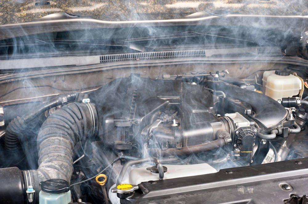 sobrecalentamiento motor