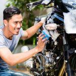 A Lavar la Moto
