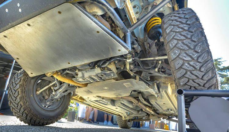 Protección Chasis Auto