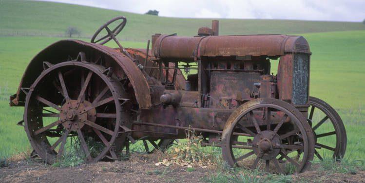 Óxido Corrosión Tractores