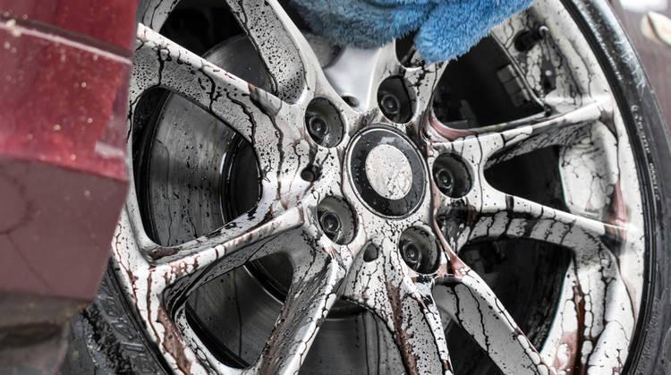 Limpieza Rines Auto